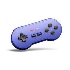 8BitDo SN30 GP Bluetooth Gamepad - Blau Game Boy, Super Nintendo, Android, Mac Os, Usb, Video Game Collection, Game Controller, Playstation, Nintendo Switch
