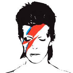 david bowie icon в 2019 г. David Bowie Tattoo, David Bowie Art, David Bowie Ziggy, John Frusciante, Mayor Tom, Pop Art, Rock Poster, Aladdin Sane, Ziggy Stardust