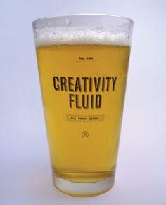 Creativity Fluid. I like it.