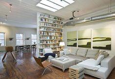 bookcase partition! #bookshelf #living_room