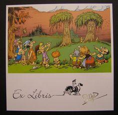 Ex Libris, Strips, Comics, Painting, Painting Art, Paintings, Cartoons, Painted Canvas, Comic