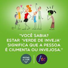 Sabia disso? Mais 50 curiosidades sobre o verde no link! #GotasdeCor #followthecolours #verde #cores