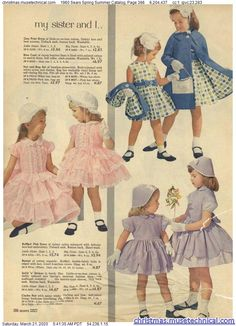 1960 Sears Spring Summer Catalog, Page 386 - Christmas Catalogs & Holiday Wishbooks Grunge Look, 90s Grunge, Grunge Style, Soft Grunge, Grunge Outfits, Style Indie, New Outfits, Kids Outfits, Vintage Kids Clothes