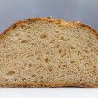 Kváskový chlieb pšenično-ražný • recept • bonvivani.sk Bread, Food, Brot, Essen, Baking, Meals, Breads, Buns, Yemek