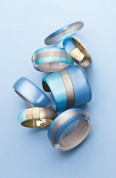 Alexis Bittar 'Lucite®' Two-Tone Bracelets