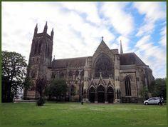 Gothic architecture, Leamington Spa, England.