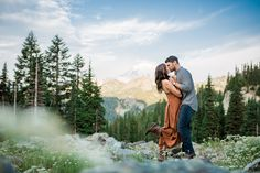 Mount Rainier Engagement Session