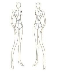 Image result for figure fashion templates