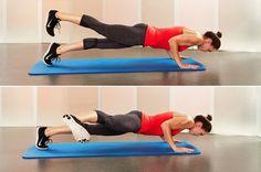 1. Hard-Core Plank