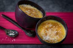 Crème de lait de coco pour un dessert veggie