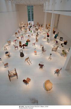 マルティーノ・ガンパー日本初個展「100日で100脚の椅子」開催 | タブルームニュース