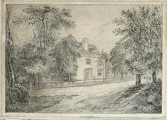 Steventon Rectory, where the Austen family lived for Jane Austen's first two decades