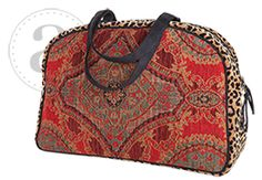 Idea for next project.   Atenti Overnighter Bag at Dream Weaver Yarns LLC