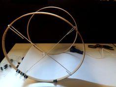 How to restore a lamp shade lamp shade frame lampshades and craft diy lamp shade base greentooth Choice Image