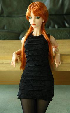Lounging by worldcitizennow on DeviantArt Anime Dolls, Blythe Dolls, Barbie Dress, Barbie Clothes, Barbie Stil, Cute Baby Dolls, Gothic Dolls, Realistic Dolls, Beautiful Barbie Dolls
