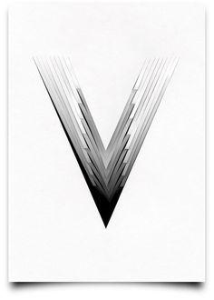 Tony Ziebetzki's Type Scan Alphabet | Trendland: Design Blog & Trend Magazine