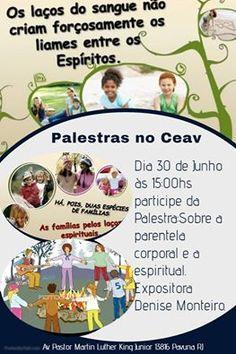 CEAV – Centro Espírita Amor à Verdade Convida para a sua Palestra Pública - Pavuna – RJ - http://www.agendaespiritabrasil.com.br/2016/06/30/ceav-centro-espirita-amor-verdade-convida-para-sua-palestra-publica-pavuna-rj-2/