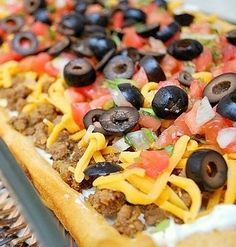 Recipe: Easy Taco Pizza Ingredients 1 lb. ground beef 1...