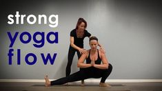 Strong Yoga Flow with Hips and Arm Balance! Create opening and strength in your body with a special focus on muscles of the hips including poses like temple,. Grasshopper Pose, Advanced Yoga, Tight Hips, Increase Flexibility, Yoga Videos, Yoga Flow, Yoga Fitness, Yoga Poses, Awesome Teachers
