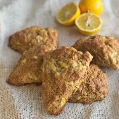 Whole Grain Whole Lemon Scones
