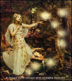 Damara- Celtic myth: goddess and fairy princess. She was the goddess of fertility and spring.