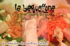 La Baguettona: Av. Cobá entre Av. Tankah y Palenque frente a la Chevrolet, Cancún. Tel: 998 281 0619