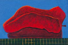 Paul Osipow: Bell Pepper, 2002, 80 x 120 cm, oil on canvas. Courtesy of Galleri Riis, Oslo