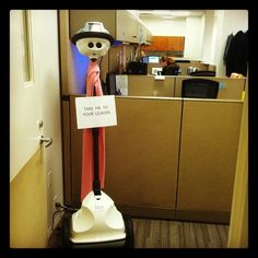 Our office robot - he/she needs a name! Ideas?