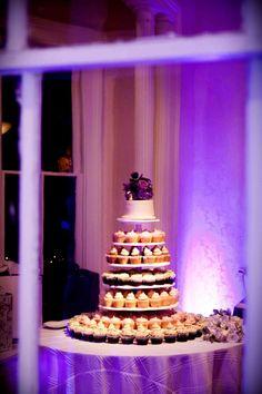 Sugar Mamas cupcake tower wedding