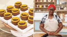 Chocolate Orange Entremets | CBC Life Dark Chocolate Mousse, Chocolate Orange, Melting Chocolate, Mini Mousse, Mousse Cake, Candied Orange Slices, Star Baker, Orange Juice Concentrate, Thing 1