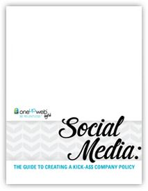 Oneupweb Publishes Guide to Help Employers Create Corporate Social Media Policies Social Media Tips, Social Media Marketing, Digital Marketing, Business Essentials, New Thought, Work Tools, Knowledge, How To Remove, Feelings