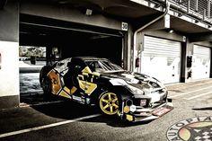 Nissan GTR R35 | car wrap design by Wrapp-Fol