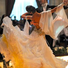 Another Dore gown action shot