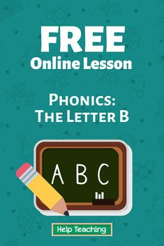 Practice questions available! Perfect for Pre-K, this online lesson comes with a video. #phonics #onlinelesson #onlinelearning