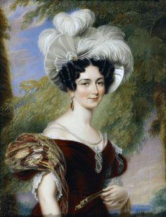 Victoria, Duchess of Kent (1788-1861) collier de perles
