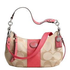 Coach Demi Crossbody Purse Light Khaki/coral « Clothing Impulse