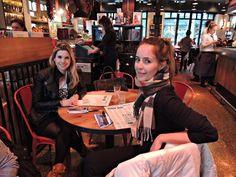 Os fabulosos restaurantes de Jamie Oliver - Com minha amiga Jana, matando a vontade de Jamie!