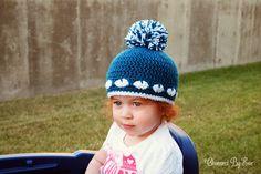 Free Crochet Pattern: Heart Hat - Newborn to Adult