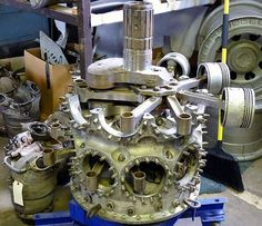 The Pratt & Whitney R-2800 Double Wasp is a twin-row, 18-cylinder radial aircraft engine.