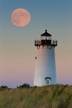 Original art for sale at UGallery.com | Moon over Martha's Vineyard by Katherine Gendreau | $25 | photography | 36' h x 24' w