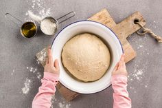 Selbstgemachter Pizzateig - Rezepte | little FOOBY Ice Cream, Cooking, Desserts, Food, Kid Cooking, Kid Recipes, Master Chef, Homemade, Ice Candy