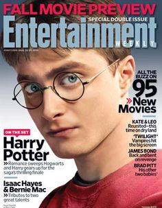 On the Set: Harry Potter [Entertainment Weekly magazine - Aug 22, 2008]