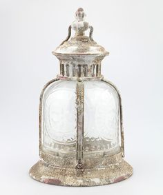 Look at this Aged Café Terrace Lantern on #zulily today!
