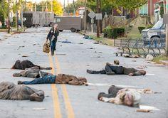 "Carol going to the Kingdom. The Walking Dead Season 7 Episode 13 ""Bury Me Here."" TWD S07 E13."