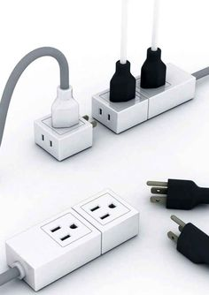 Increasable power strip, neat