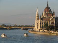 Rio Danúbio - Budapeste.