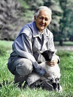 Author James Herriot(James Alfred Wight) 1916-1995.I loved his books,which I first read as a child.His humor & talent for description did not fail the test of time-i love his books today as much as I did then! I bought his story of the Christmas Kitten(Moses),& the James Herriot children's treasury for my son(Barnes & Noble had it in stock)He wrote with humor,compassion,& sympathy for all his subjects-both human & animal.Despite physical challenges(chronic infections,including brutal bouts…