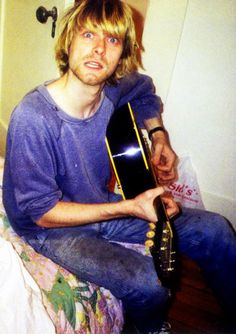 Kurdt Cobain (yes I spelled it correctly as he preferred to spell his name this way!)