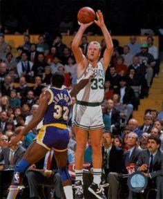 Larry Bird--Celtics                          Magic Johnson