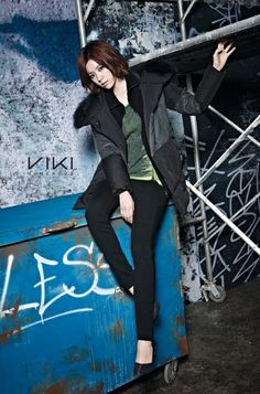 It took some time, but VIKI is finally showing off its new fall and winter collection. In the past, I always thought Han Hyo Joo was the reason for why VIKI's designs looked good. Han Hyo Joo, Winter Collection, Campaign, Fall Winter, Presents, Kimchi, Confident, Korean, Couch